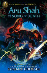 Aru Shah and the Song of Death (Vernon Barford School Library) Tags: roshanichokshi roshani chokshi pandava 2 two second series supernatural adventure fantasy fiction humor humour humorous myth mythology hindu hindumythology indic indicmythology mythological antiquities demonology paranormal rick riordan rickriordanpresents rickriordan vernon barford library libraries new recent book books read reading reads junior high middle school vernonbarford fictional novel novels hardcover hard cover hardcovers covers bookcover bookcovers 9781368013840