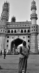 Anonymous Soldiers Of Keeping India & It's Heritage Clean And Elegant (abhijit.sen) Tags: incredibleindia architecture elegance cleanliness street charminar heritage cleanindia swachhbharat
