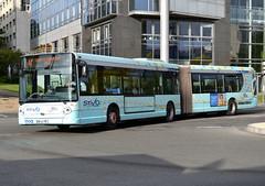 Heuliez Bus GX 427, STIVO/Société des Transports Interurbains du Val d'Oise, original pre-STIF livery coming along with Île de France Mobilités markings, Cergy-Préfècture. (alaindurandpatrick) Tags: heuliezbus gx427 heuliezbusgx427 buses articulatedbuses masstransit masstransitcompanies stivo sociétédestransportsinterurbainsduvaldoise îledefrancemobilités masstransitauthorities cergypontoise 95 valdoise îledefrance greaterparisarea france