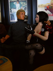 A Busy Night In the 'Arms' (8) (Blondeactionman) Tags: ammoarms actionman geyperman bamhq foxdefender playscale phicen lucy pepe diorama dollphotography onesixth onesixthscale