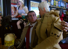 A Busy Night In the 'Arms' (10) (Blondeactionman) Tags: ammoarms bamhq cy girls playscale phicen onesixth onesixthscale diorama dollphotography pub