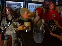 A Busy Night In the 'Arms' (14) (Blondeactionman) Tags: ammoarms actionman luke phicen bianca bamhq diorama dollphotography playscale pub onesixth onesixthscale steve austin