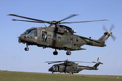 ZJ135_EH101MerlinMk3_RoyalNavyCHF_TenTors_Img05 (Tony Osborne - Rotorfocus) Tags: leonardo agustawestland aw101 eh101 merlin royal navy air fleet helicopter okehampton chf force tors 2019 ten commando arm