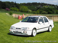 Ford Sierra Sapphire RS Cosworth (ArtOcar) Tags: ford sierra sapphire rs cosworth leedscastle motorsbythemoat