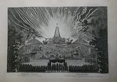 Fireworks on the canal at Versailles 18 juillet 1668 - Julien Macho (Monceau) Tags: fireworks canal versaille 17thcentury 1668 blackandwhite extraordinary