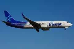 C-GTQJ (Air Transat) (Steelhead 2010) Tags: airtransat boeing b737 b737800 yyz creg cgtqj