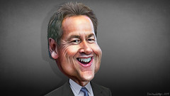 Steve Bullock - Caricature (DonkeyHotey) Tags: stephenclarkbullock stevebullock democrat 2020 governor montana donkeyhotey photoshop caricature cartoon face politics political photo manipulation photomanipulation commentary politicalcommentary campaign politician caricatura karikatuur karikatur