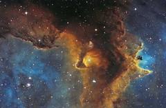 IC1871 in Soul Nebula - SHO (Astrolights.de) Tags: ic1871 soulnebula hubblepalette sho narrowband astro astrophotography zwoasi183mmpro astrometrydotnet:id=nova3390789 astrometrydotnet:status=solved