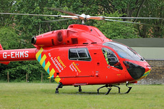 London's Air Ambulance in Acton (kertappa) Tags: img1421 air ambulance londons london hems doctor paramedics hospital glndn emergency helicopter kertappa acton berrymede junior school