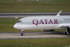 A350-900 Qatar (Luc_slf) Tags: a350 a350900 qatar deliverycenter delivery airbus aéronautique aeronautics aeroport aeroporttoulouseblagnac toulouseairport toulouse blagnac toulouseblagnac