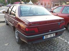 1992 Peugeot 405 1.6 (FromKG) Tags: peugeot 405 16 red car kragujevac serbia 2019 1992