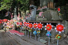 Yamagata, Risshaku-ji temple (blauepics) Tags: japan nippon island insel north norden yamagata prefecture prefektur honshu hill mountain berg nature natur tree baum green grün yamadera risshakuji temple tempel religion buddhism buddhismus architecture architektur symmetries symmetrien