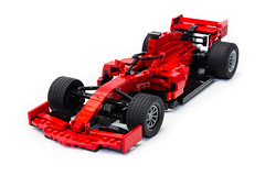 Ferrari SF90 (1) (Noah_L) Tags: lego moc ferrari sf90 red black car racecar 2019 formulaone formula1 f1 noahl italian myowncreation creation