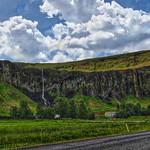 Suðurland, Iceland's southern region - Tall Narrow Waterfalls  - Highway 1 Ring Road thumbnail