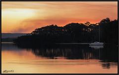 Bushfire sky in Autumn 1 (itsallgoodamanda) Tags: shoalhaven seascape sea seaside southcoast seascapephotography stgeorgesbasin sky sanctuarypoint sunset smoke bushfiresmoke sunsetphotography calmocean mountainranges reflections amandarainphotography australia australianphotography australianlandscape australiassouthcoast autumn autumn2019 beautifulbeach jervisbayphotography jervisbay itsallgoodamanda photography photoborder peaceful prettysunset prettybeach bushfire coastallandscape coastal colourfullandscape coastline coast cloudreflections skyreflections landscape landscapecoast landscapephotography lateafternoon hazardreduction burnoff yacht silhouettetrees