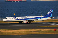 ANA Airbus A321-211 JA111A (Mark Harris photography) Tags: spotting hnd plane airbus a321 ana canon 5d