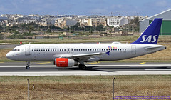 OY-KAR LMML 16-03-2019 Scandinavian Airlines (SAS) Airbus A320-232 CN 3159 (Burmarrad (Mark) Camenzuli Thank you for the 18.9) Tags: oykar lmml 16032019 scandinavian airlines sas airbus a320232 cn 3159