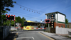 Ding a ling at Deansgate Junction (robmcrorie) Tags: deans gate junction signal box manchester bell warning nikon d850 tram altrincham deansgate
