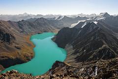 Ala-Kul Lake 3532m. (pavel.polyanov) Tags: alakul tianshan алакел тяньшань горы mountain kyrgyzstan киргизия каракол karakol кыргызстан 30летвлксм 3532 терскей ngc