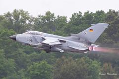PANAVIA Tornado ECR - 4332/46+32 - German Air Force Luftwaffe /TLG 51  NATO Tiger Meet 2019 Mont de Marsan (Florent Péraudeau) Tags: panavia tornado ecr 43324632 german air force luftwaffe tlg 51 nato tiger meet 2019 mont de marsan