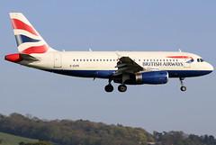 GEUPE_04 (GH@BHD) Tags: geupe airbus a319 a319100 ba baw britishairways speedbird shuttle unionflag aircraft aviation airliner bhd egac belfastcityairport