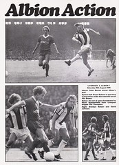 West Bromwich Albion vs Nottingham Forest - 1979 - Page 8 (The Sky Strikers) Tags: west bromwich albion wba brom nottingham forest football league division one the hawthorns official news and matchday magazine 30p