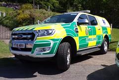 6361 - UKSAS - YT16 WRV - 101_1786 (Call the Cops 999) Tags: uk gb united kingdom great britain england 999 112 emergency service services vehicle vehicles ambulance