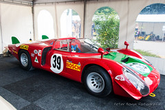 "Alfa-Romeo Tipo 33/2 Sport Prototipo ""Daytona Coupé"" (Perico001) Tags: jüchen nordrheinwestfalen duitsland tipo33 tipo332 sportprototype daytona 1967 1969 1968 coupé v8 sport race racing autoracing competition competizione corsa rennwagen alfaromeo milano torino anonimalombardafabbricaautomobili italië italy italia auto automobil automobile automobiles car voiture vehicle véhicule wagen pkw automotive autoshow autosalon motorshow carshow ausstellung exhibition exposition expo verkehrausstellung germany deutschland allemange schlossdyck nikon d700 2013 oldtimerbeurs classicdays oldtimer classic klassiker"
