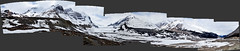 Columbia Icefield and Athabasca Glacier panoramic (anthonymaw) Tags: alberta anthonymaw banff canada icefield jasper landscape panorama tourism travel