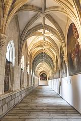 Interior del claustro. Pinturas de Vicente Carducho (lebeauserge.es) Tags: rascafría madrid elpaular monasterio