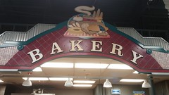 And you could argue the chalkboards throughout the grand aisle are reminiscent of Chalkboard Market (Retail Retell) Tags: kroger for goodness sake olympic spirit décor store powder springs road marietta ga retail rare package 1990s neon
