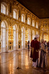 Catherine Palace (claudia 222) Tags: catherine palace russia gold rococo noctilux people women man architecture 50mm yellow manualfocus