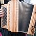 Akkordeon in den Händen einer Musikerin