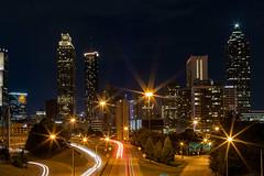 Downtown Atlanta (pboolkah) Tags: ngc atlanta georgia unitedstatesofamerica canon canon5d canon5dmkiv city cityscape night