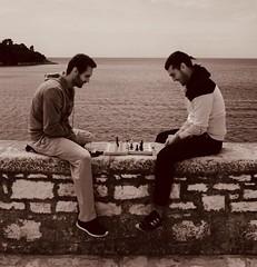 Chessboard (rwbthatisme) Tags: street x100f fujifilm croatia istria rovinj chessboard