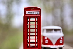 Is there Room for a Classic Call? (Haytham M.) Tags: wood trees tree plants outdoor outdoors britain uk unitedkingdom drive minibus vw ontario canada royal royalty england sigma1770mm canont7i technology history past memory positive nostalgia road classic car call box phone booth