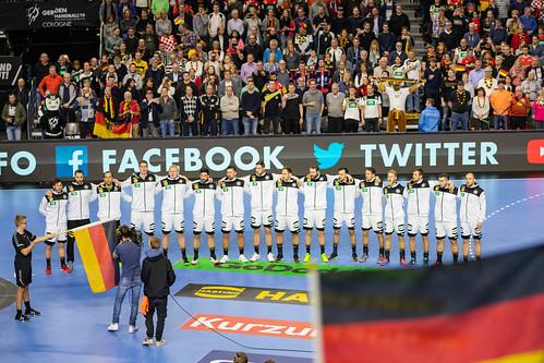 Mannschaft Deutschland Köln Arena Handball WM 2019