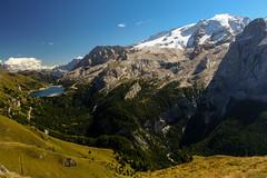 Campitello-069 (NiBe60) Tags: berg alpen italien trentino südtirol dolomiten fassatal campitello canazei rifugio belvedere lago di fedaia stausee passo de marmolada gletscher bindelweg mountain alps italy south tyrol dolomites reservoir glacier