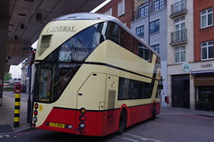 IMGP9640 (Steve Guess) Tags: vauxhall lambeth london england gb uk bus station tfl transportforlondon borismaster borisbus newroutemaster newbusforlondon nb4l nbfl wright goahead general ltz1050 lt50