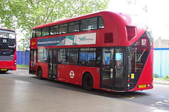 IMGP9638 (Steve Guess) Tags: vauxhall lambeth london england gb uk bus station tfl transportforlondon borismaster borisbus newroutemaster newbusforlondon nb4l nbfl wright goahead ltz1045 lt45