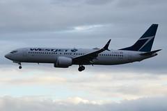 C-FRAX (LAXSPOTTER97) Tags: westjet boeing 737 7378 max cfrax cn 60510 ln 6384 aviation airport airplane cyvr