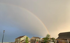 May 17, 2019 - A gorgeous rainbow after a passing storm.  (Alysia Soto Rhoden)