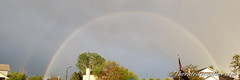 May 17, 2019 - A gorgeous rainbow after a passing storm.   (ThorntonWeather.com)