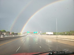 May 17, 2019 - A gorgeous rainbow after a passing storm.  (Zach Smith)