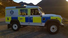 Police Land Rover Defender (Donald Morrison) Tags: police policevehicle landrover landroverdefender