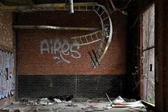 Loopy (gregador) Tags: cleveland decayed abandoned urbex urbanexploring urbanexploration cabletrays nature