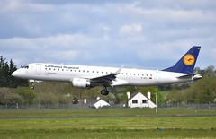 D-AECA ERJ190 Lufthansa Regional (corrydave) Tags: 19000327 erj erj190 embraer lufthansa shannon daeca