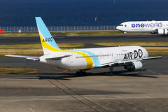 Air Do Boeing 767-381 JA613A (Mark Harris photography) Tags: spotting hnd plane aviation canon 5d