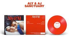 Aly & AJ Sanctuary Package - Vinyl (singitmothadesigns) Tags: alyandaj sanctuary albumcover albumart albumartwork albumbacking alyaj vinylmockup mockup