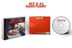 Aly & AJ Sanctuary Package - CD (singitmothadesigns) Tags: alyandaj sanctuary albumcover albumart albumartwork albumbacking alyaj cdmockup mockup